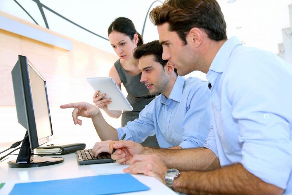 אנשי מכירות הייטק   צילום: Shutterstock