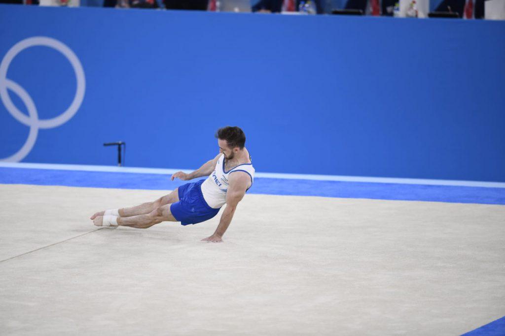 דולגופיאט במהלך תחרות הגמר | צילום: עמית שיסל, הוועד האולימפי בישראל