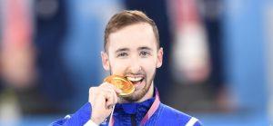 ארטיום דולגופיאט זוכה במדליית הזהב באולימפיאדת טוקיו | צילום: עמית שיסל, הוועד האולימפי בישראל