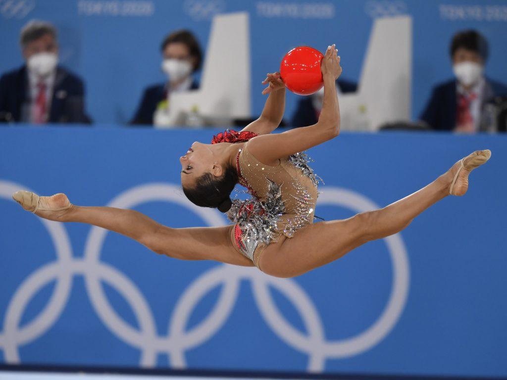 לינוי אשרם במשחקים האולימפיים בטוקיו   צילום: עמית שיסל, הוועד האולימפי בישראל