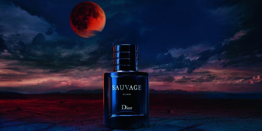 Sauvage Elixir. הניחוח החדש של בית האופנה דיור. צילום: Dior