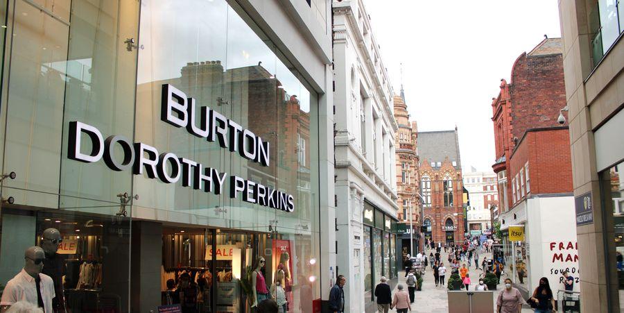 חנויות של מותגי האופנה ברטון ודורות'י פרקינס. נמכרו לענקיות הקמעונאות אסוס ובוהו-מן. צילום: shutterstock