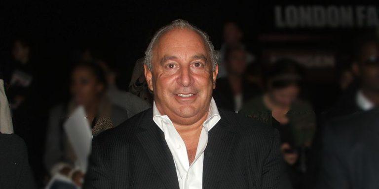 המיליארדר פיליפ גרין. מכירת חנות הדגל של טופשופ בלונדון תסייע לו להחזיר את החובות לנושי ארקדיה שבבעלותו. צילום: shutterstock