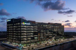 קמפוס מיקרוסופט החדש, מובילים התרחבות בסניפים ברחבי העולם | צילום: עמית גורן